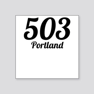 503 Portland Sticker