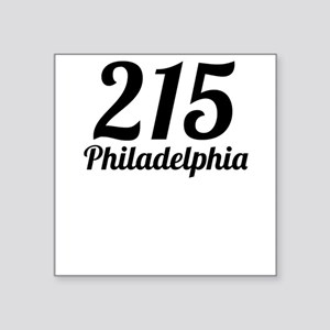 215 Philadelphia Sticker