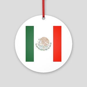 Flag Of Mexico Ornament (Round)