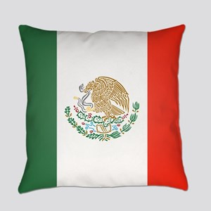 Flag Of Mexico Everyday Pillow