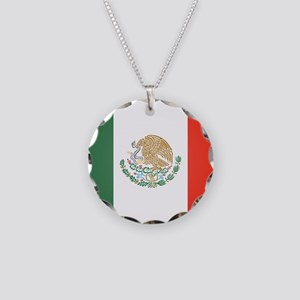 Flag Of Mexico Necklace