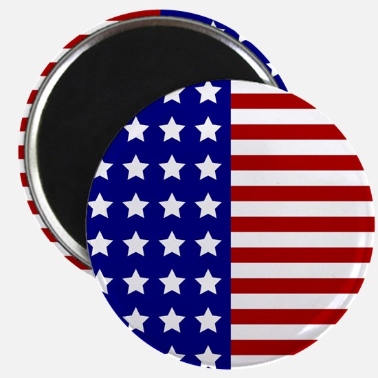 US Flag Stylized Magnets