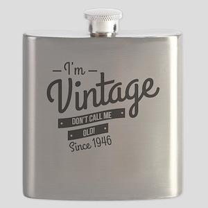 Im Vintage Since 1946 Flask