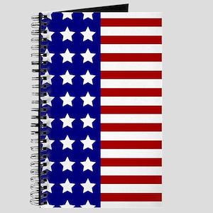 US Flag Stylized Journal