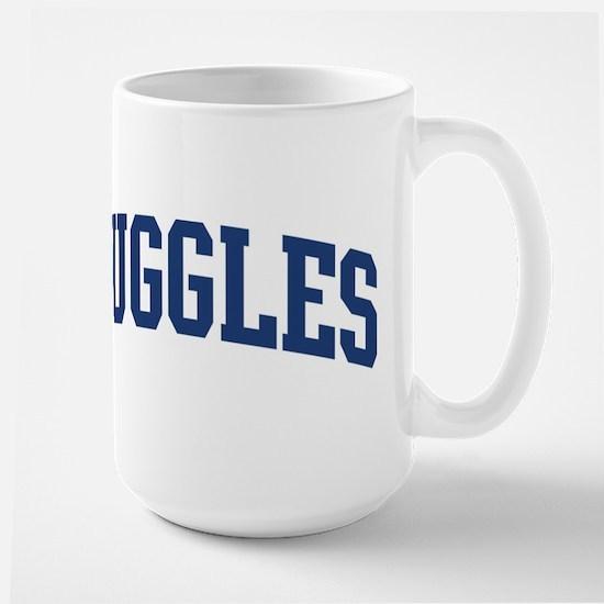 RUGGLES design (blue) Mugs