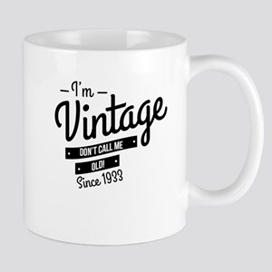 Im Vintage Since 1933 Mugs