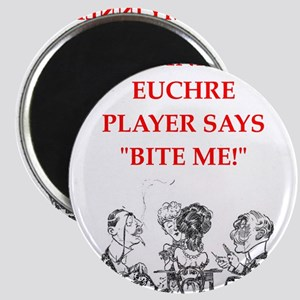 euchre joke Magnets