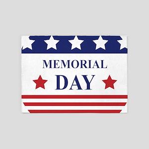 Memorial Day 5'x7'Area Rug