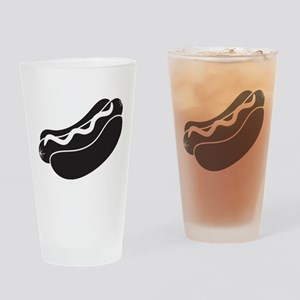 Hotdog Drinking Glass