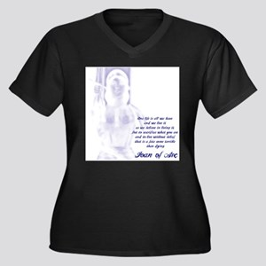 Joan of Arc - One Life Plus Size T-Shirt