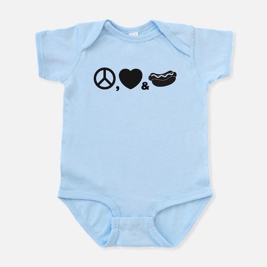 Hotdog Infant Bodysuit