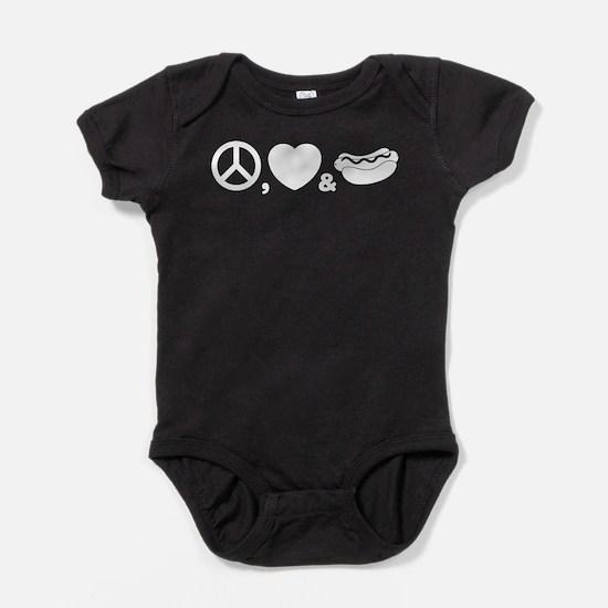 Hotdog Baby Bodysuit