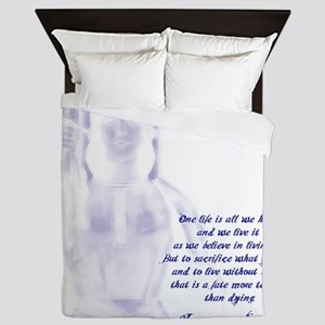 Joan of Arc - One Life Queen Duvet