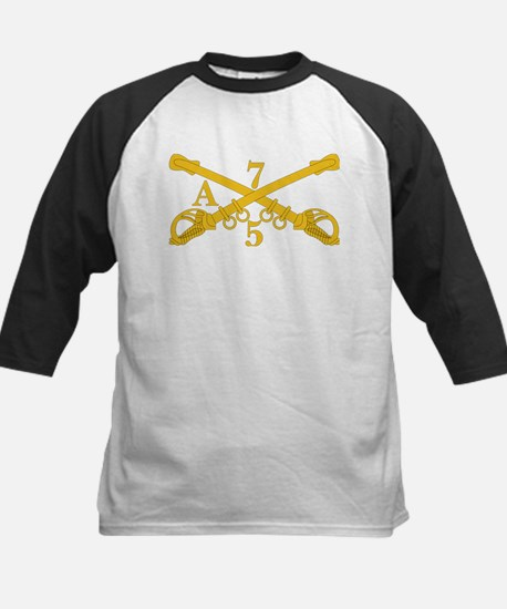 A Company 5th Troop 7th Cavalry Baseball Jersey