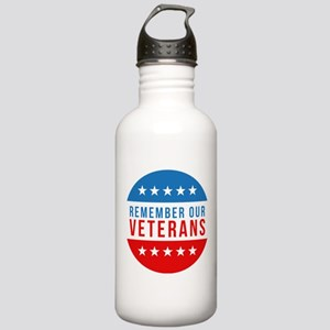 Remember Our Veterans Water Bottle