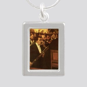 Orchestra of Opera by Degas Necklaces