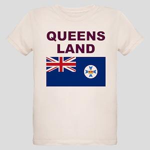 QLD-Maroon-Light T-Shirt