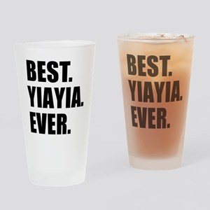 Best YiaYia Ever Drinking Glass