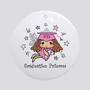 Graduation Princess Personalized Ornament (Round)