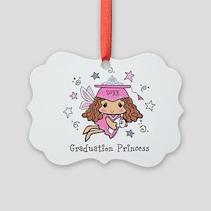 Graduation Princess Personalized Picture Ornament
