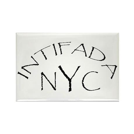 INTIFADA NYC Rectangle Magnet