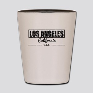 Los Angeles California Shot Glass