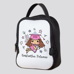 Graduation Princess Personalize Neoprene Lunch Bag
