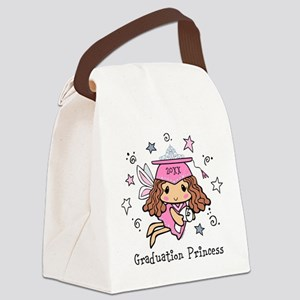 Graduation Princess Personalized Canvas Lunch Bag