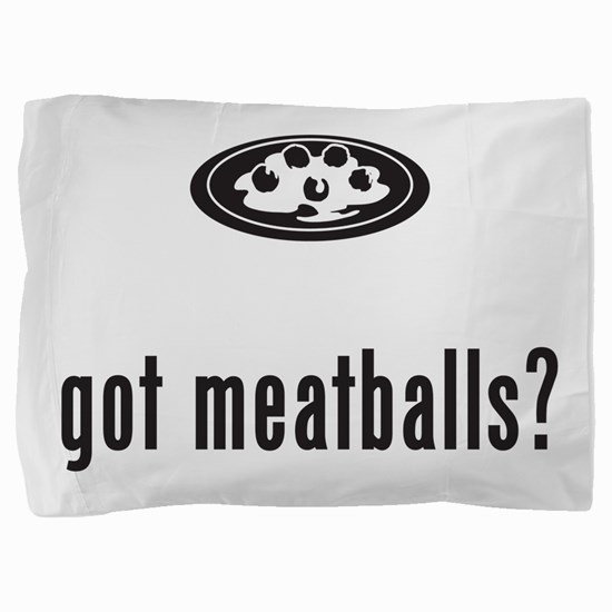 Meatballs Pillow Sham