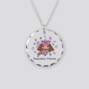 Graduation Princess Personal Necklace Circle Charm