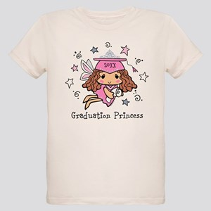 Graduation Princess Personali Organic Kids T-Shirt