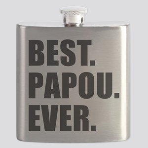 Best Papou Ever Flask