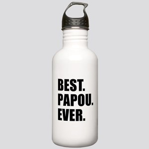 Best Papou Ever Stainless Water Bottle 1.0L