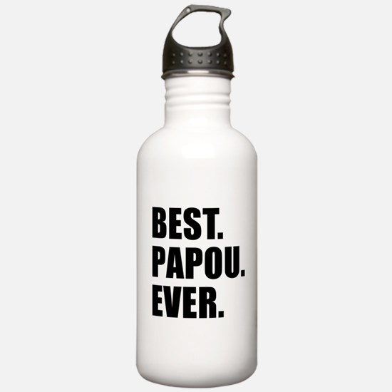 Best Ever Papou Drinkware Water Bottle