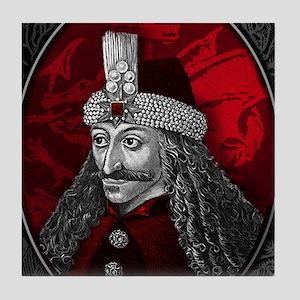 Vlad Dracula Gothic Tile Coaster