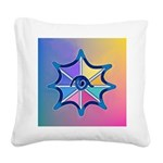 Magical Eye Pastel Square Canvas Pillow