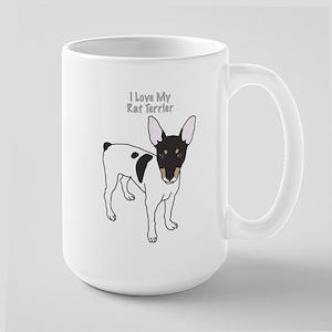 I Love My Rat Terrier Mugs