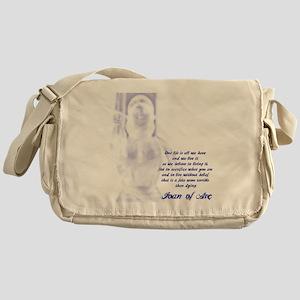 Joan of Arc - One Life Messenger Bag