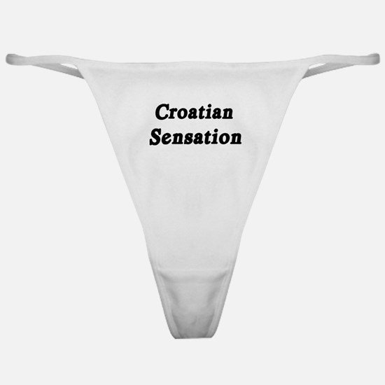 Croatian Sensation Classic Thong