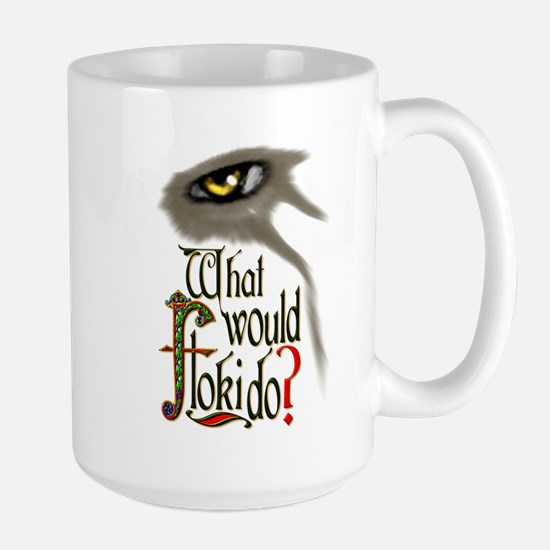 what would Floki do? Mugs