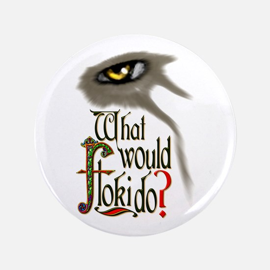 What Would Floki Do? Button