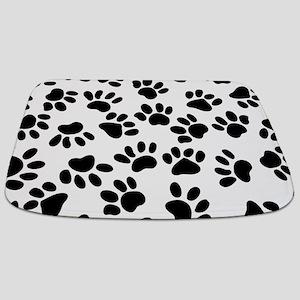 Paw Prints Bathmat