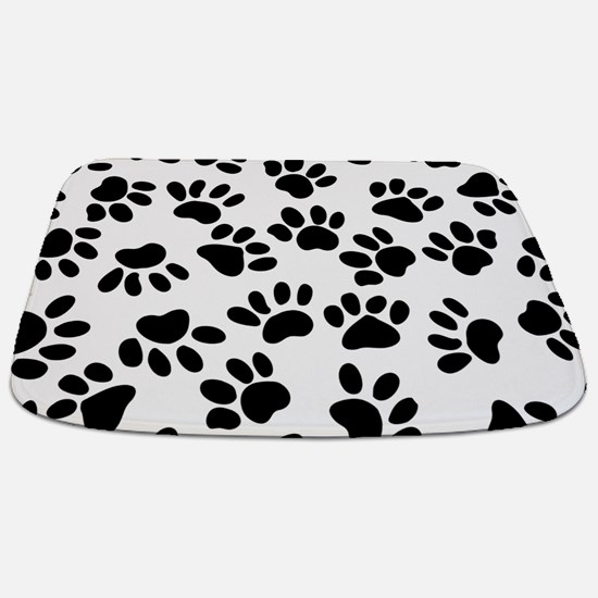Paw Prints Bathmat