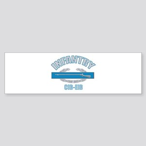 Military Infantry Bumper Sticker
