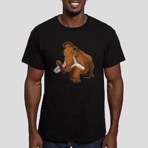 Ice Age 8-Bit Manny Men's Fitted T-Shirt (dark)