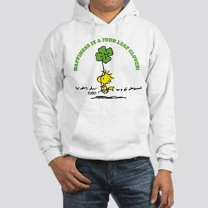 Happiness is a Four Leaf Clover Hoodie