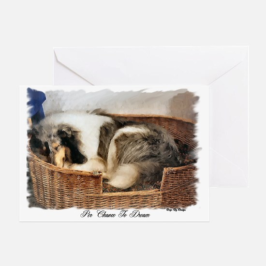 Collie Gifts of Art Greeting Card