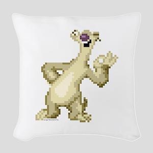 Ice Age 8-Bit Sid 2 Woven Throw Pillow