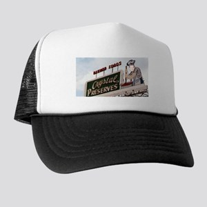 Hap on the Hot Sauce Sign Trucker Hat