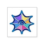 Magical Eye Pastel Square Sticker 3